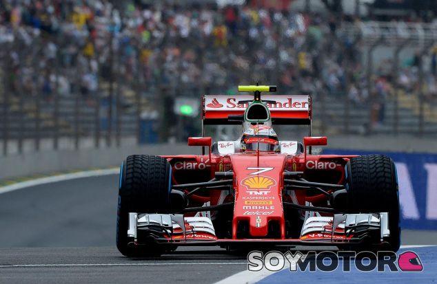 Kimi Räikkönen en Brasil - laF1