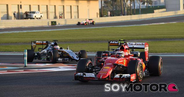 Kimi Räikkönen en Abu Dabi - LaF1