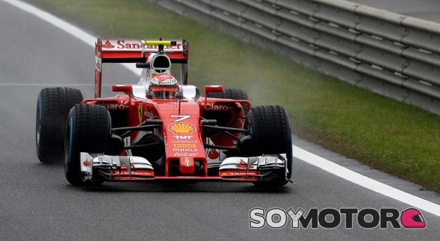 Kimi Räikkönen en China - Laf1