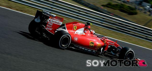 Kimi Räikkönen, hoy en Hungría - LaF1