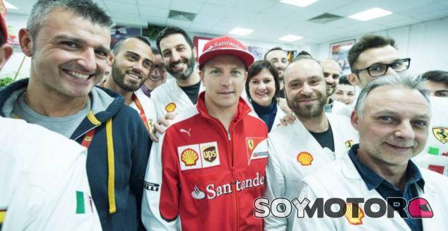 Kimi Räikkönen en Maranello - LaF1