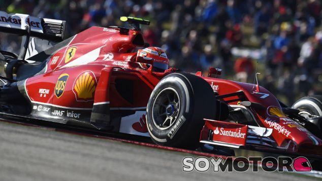 """Räikkönen """"odia"""" la situación en la que se encuentra en Ferrari"""