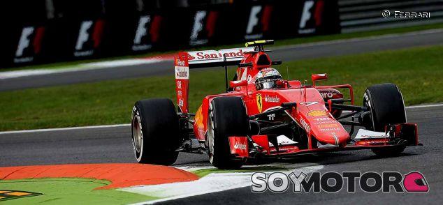 Kimi Räikkönen en Monza - LaF1