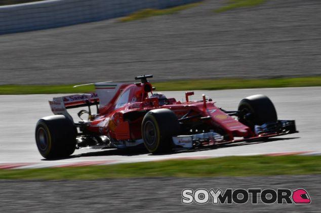 Räikkönen en el último día de pretemporada - SoyMotor