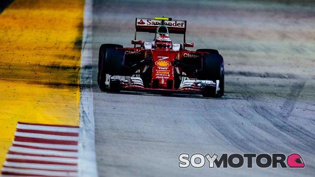 Räikkönen perdió el podio en Singapur - LaF1