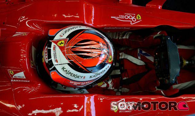 Kimi Räikkönen en Spa - LaF1
