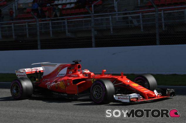 Kimi Räikkönen marcó el récord de los tests - SoyMotor