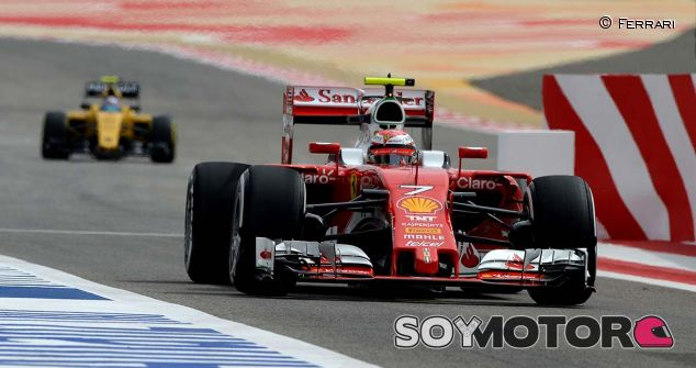 Kimi Räikkönen en Baréin 2016 - LaF1