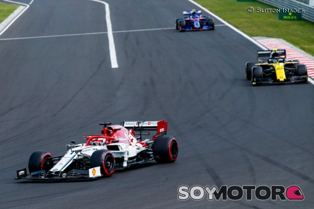 Alfa Romeo en el GP de Hungría F1 2019: Domingo - SoyMotor.com