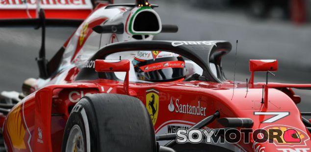 Kimi Räikkönen, esta mañana en Montmeló - LaF1