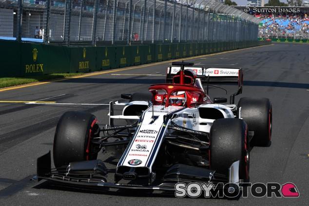 Alfa Romeo en el GP de Australia F1 2019: Domingo - SoyMotor.com