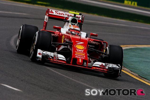 Kimi Räikkönen rodaba tercero cuando se vio forzado a abandonar - LaF1