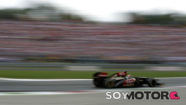 Kimi Räikkönen en el GP de Italia F1 2013- LaF1