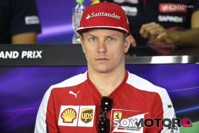 Kimi Räikkönen en la rueda de prensa de la FIA en Malasia - LaF1