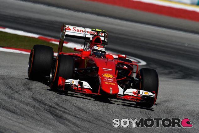 Kimi Raikkonen con el SF15-T de Ferrari en Malasia - LaF1.es