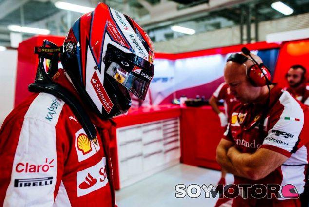 Räikkönen abandonó en México por segunda carrera consecutiva - LaF1