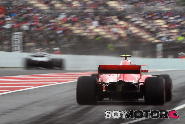 Kimi Räikkönen en Barcelona - SoyMotor.com