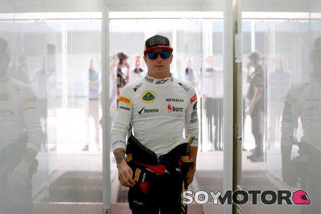 Kimi Räikkönen en el paddock de la India - LaF1
