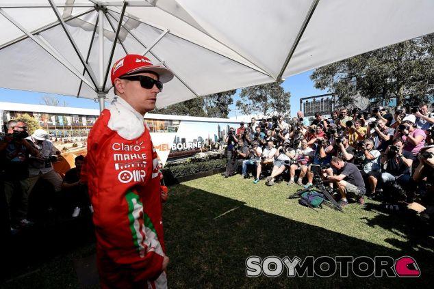 Kimi Räikkönen, hoy en Australia - LaF1