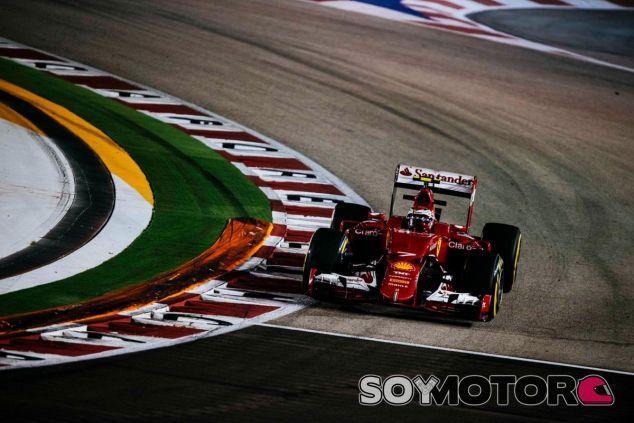 Räikkönen partirá tercero, pero no está del todo contento con las ocho décimas perdidas con Vettel - LaF1