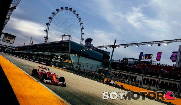 Kimi Räikkönen en Singapur - LaF1