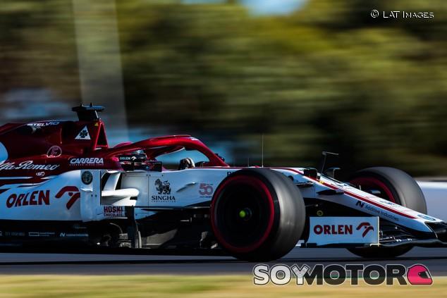 Alfa Romeo en el GP de Portugal F1 2020: Sábado - SoyMotor.com