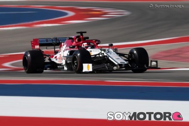Alfa Romeo en el GP de Estados Unidos F1 2019: Viernes – SoyMotor.com