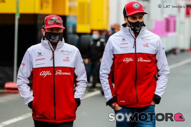 """Giovinazzi: """"Räikkönen es uno de los mejores pilotos en la F1"""" - SoyMotor.com"""