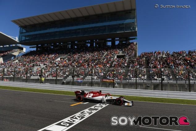 Alfa Romeo en el GP de Japón F1 2019: Domingo – SoyMotor.com