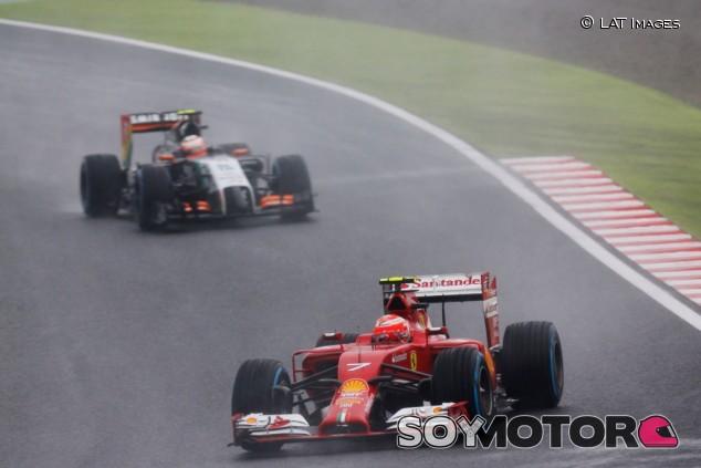 Pérez desvela que tenía un pre-contrato con Ferrari para 2014 –SoyMotor.com