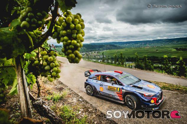 Dani Sordo en el Rally de Alemania 2017 - SoyMotor.com