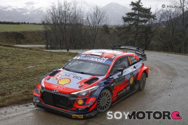 Rally Montecarlo 2021: Tänak vuela hacia el liderato - SoyMotor.com