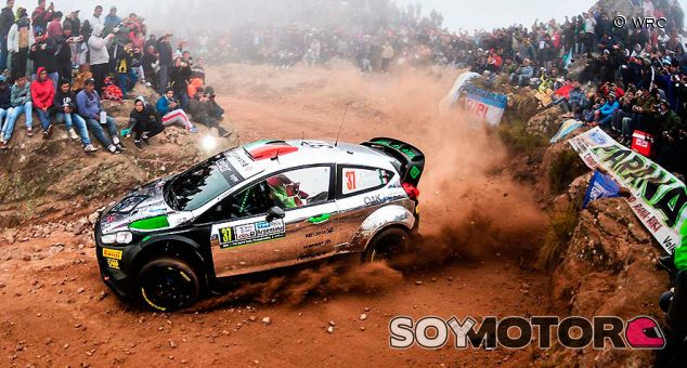 Lorenzo Bertelli en el Rally Argentina de 2016 - SoyMotor.com