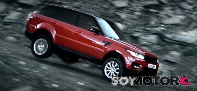 El Range Rover Sport a 150 por hora en una pendiente del 75% - SoyMotor.com