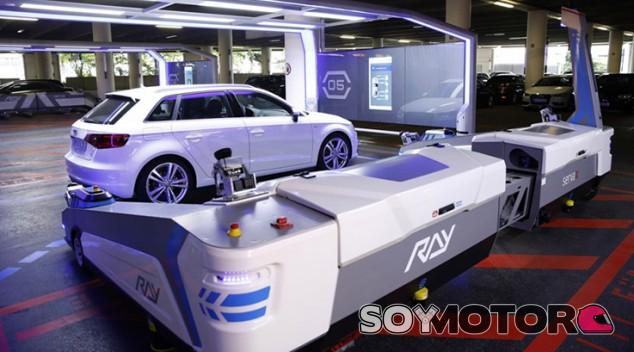 Un Audi A3 en la nueva fábrica de Audi - SoyMotor.com