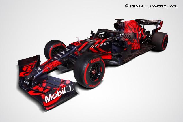 Red Bull presenta el RB15 de 2019 - SoyMotor