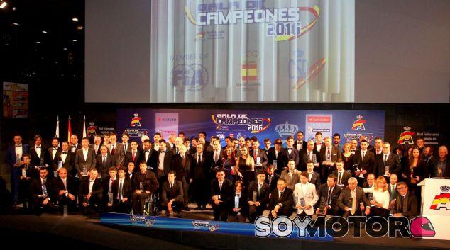 Imagen de la gala de campeones - SoyMotor