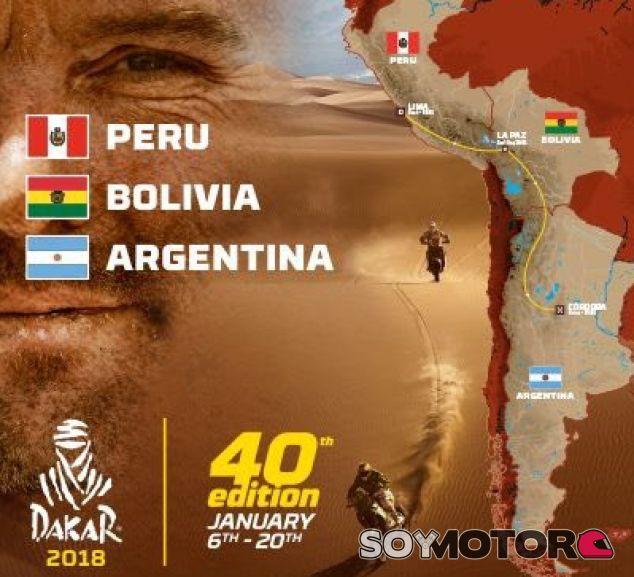 Recorrido oficial del Dakar 2018 – SoyMotor.com