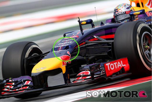 Ubicación de la cámara on-board en el pasado Gran Premio de España - LaF1