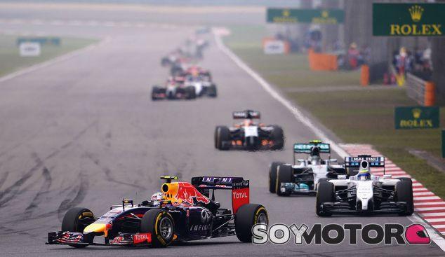Daniel Ricciardo en el Gran Premio de China de 2014 - LaF1