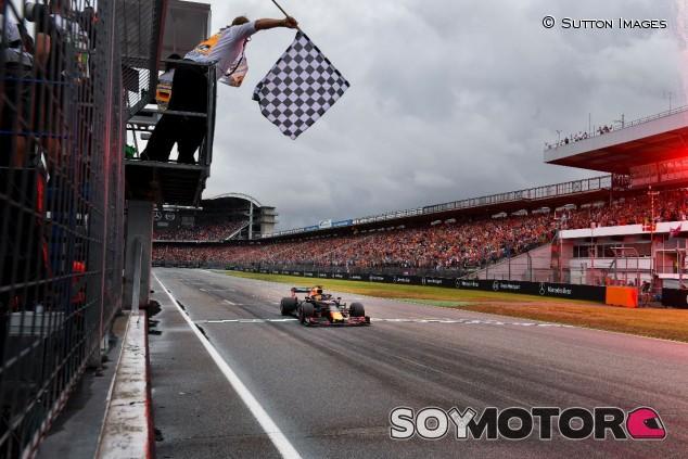 Max Verstappen en el GP de Alemania F1 2019 - SoyMotor