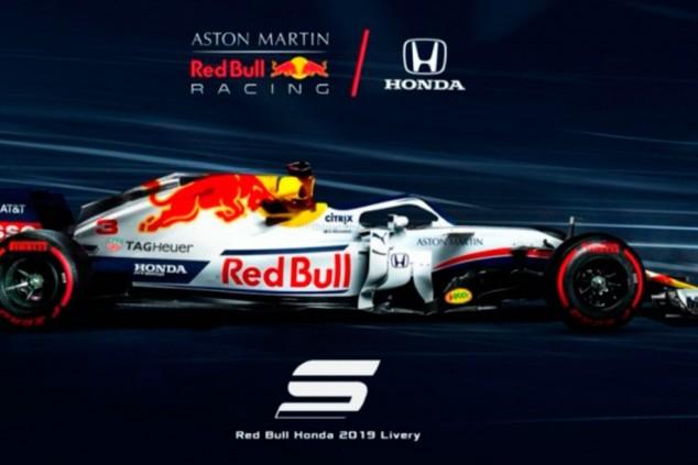 Red Bull RB15: ¿blanco como el casco de Verstappen?
