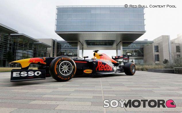Los patrocinadores de Red Bull colorearán su coche 2017 diferente - SoyMotor.com