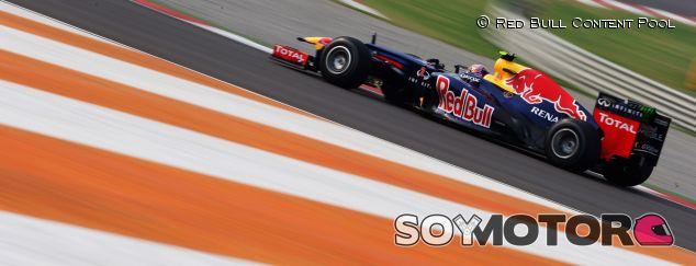 Momento durante GP de la India de 2013 con Mark Webber - LaF1