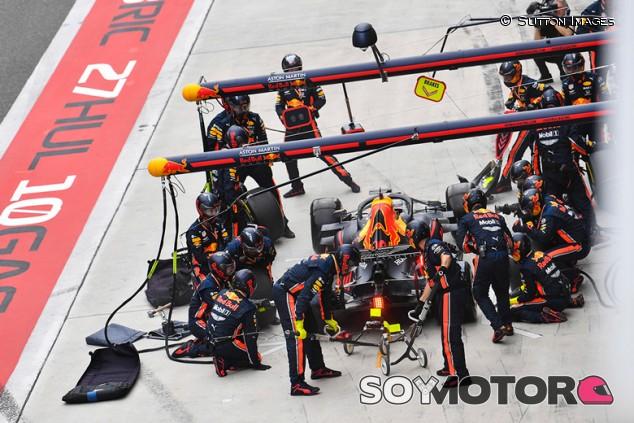 Red Bull sigue al frente del Mundial de Paradas tras el GP de China - SoyMotor.com