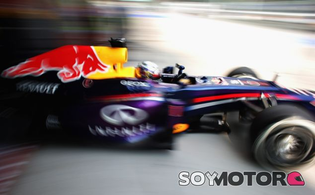 Sebastian Vettel y su Red Bull RB9 en Malasia - LaF1