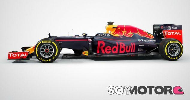 El nuevo coche de Red Bull para 2016 - LaF1