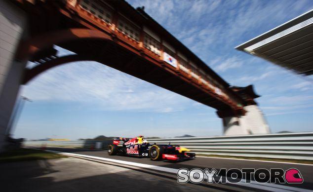Sebastian Vettel durante el Gran Premio de Corea de 2012 - LaF1