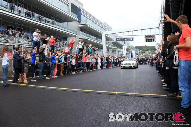 Inauguración del circuito de Sochi - LaF1