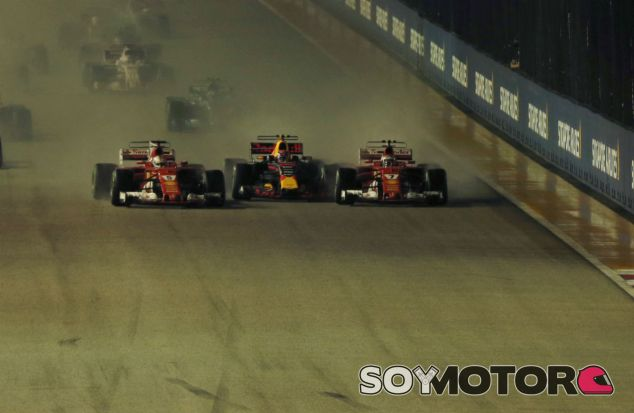 Verstappen, entre Vettel y Räikkönen - SoyMotor.com